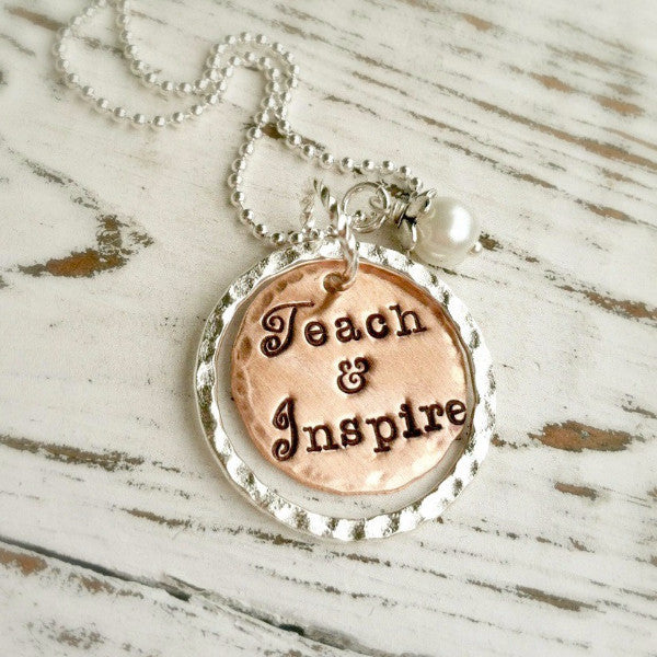 Teach & Inspire Necklace