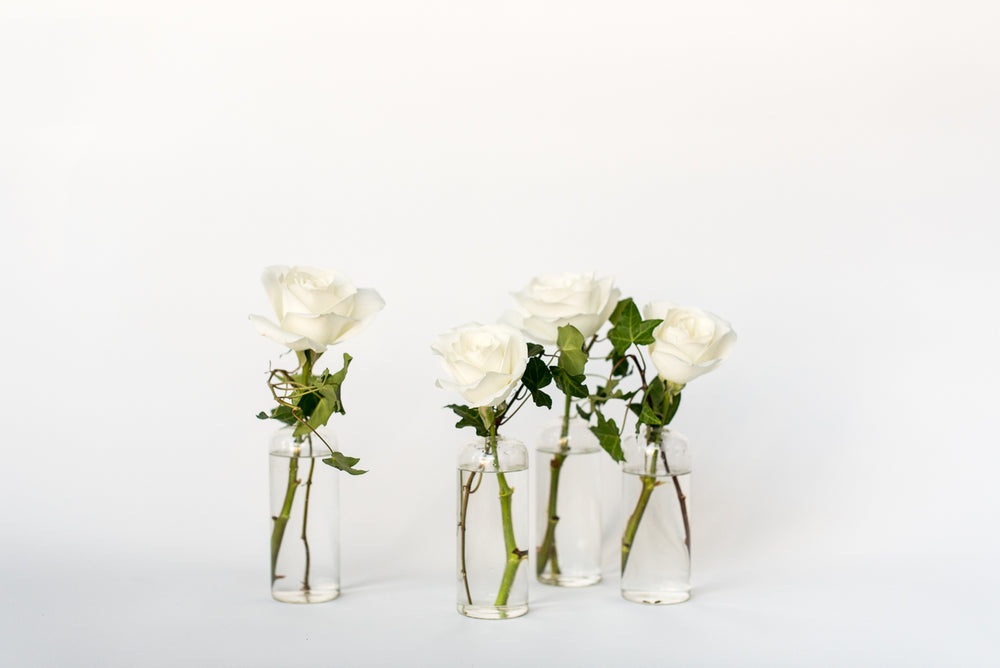 Load image into Gallery viewer, Pearl Bud Vase Set
