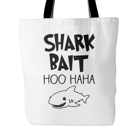 Shark Bait Tote Bag, 18