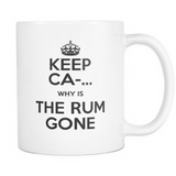 Why Is The Rum Gone Coffee Mug, 11 Ounce