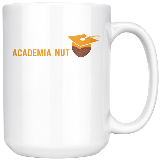 Academia Nut Coffee Mug, 15 Ounce