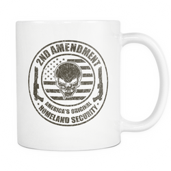 2nd Amendment America's Original Coffee Mug, 11 Ounce