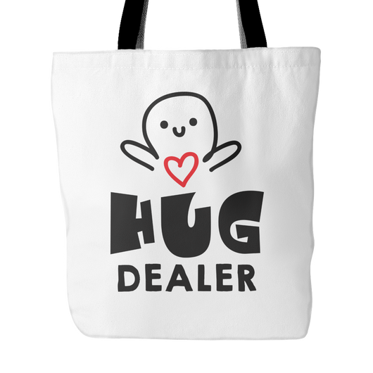 Hug Dealer Tote Bag, 18