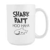 Shark Bait Coffee Mug, 15 Ounce