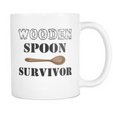 Wooden Spoon Survivor Coffee Mug, 11 Ounce