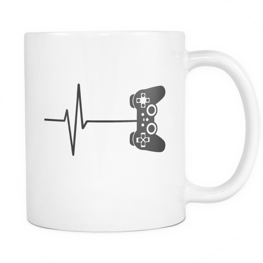 Game Life Coffee Mug, 11 Ounce