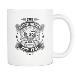 2nd Amendment Est. 1791 Coffee Mug, 11 Ounce