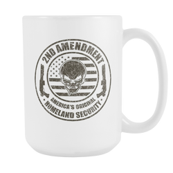 2nd Amendment America's Original Coffee Mug, 15 Ounce