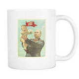 Papa Putin And Baby Trump Coffee Mug, 11 Ounce