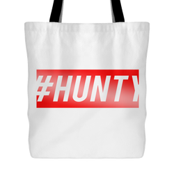 #HUNTY Tote Bag, 18 inches x 18 inches