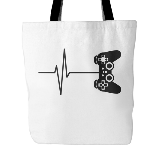 Game Life Tote Bag, 18