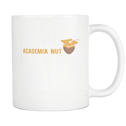 Academia Nut Coffee Mug, 11 Ounce