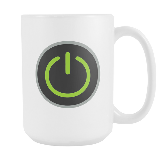 Power Switch Coffee Mug, 15 Ounce
