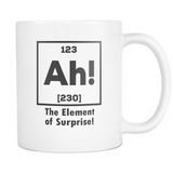 Ah! The Element Of Surprise! Coffee Mug, 11 Ounce