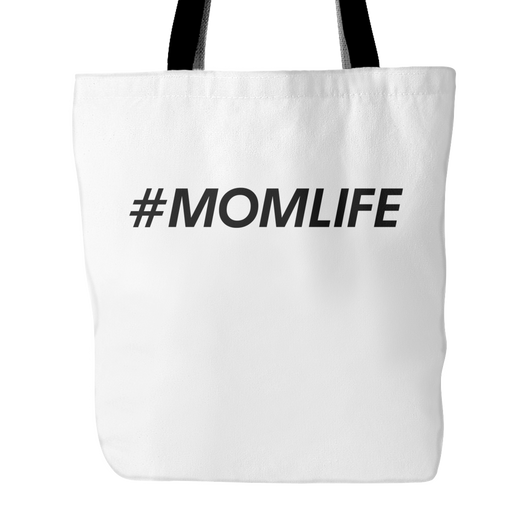 #MOMLIFE Tote Bag, 18 inches x 18 inches