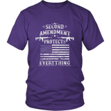 Second Amendment Protects Everything Shirt