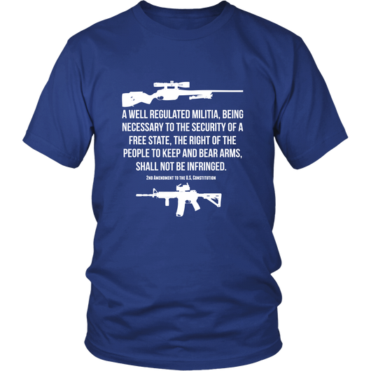 2nd Amendment To The US Constitution Shirt