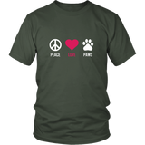 Peace Love Paws Shirt