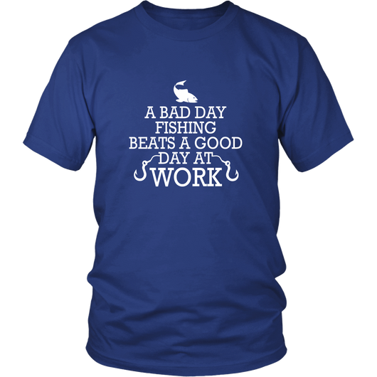 A Bad Day Fishing Shirt