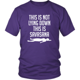 This Is Not Lying Down Shirt