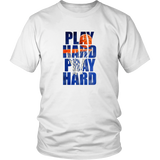 Play Hard Pray Hard Shirt