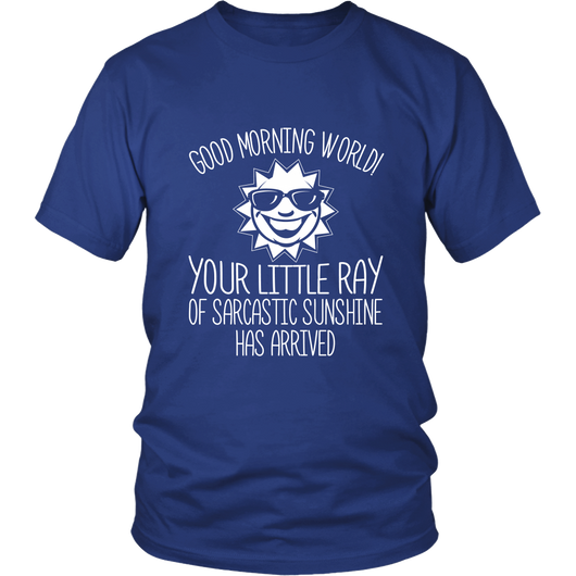 Good Morning World Shirt
