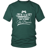Gamers Has To Save The Princess Shirt