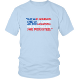 She Was Warned shirt