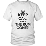 Why Is The Rum Gone Shirt