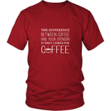 I Aside For Coffee Shirt