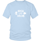 Irish I Was Drunck Shirt