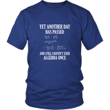 I Haven't Used Algebra Once Shirt