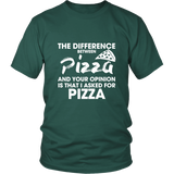 The Difference Between Pizza Shirt