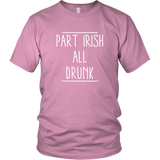 Part Irish All Drunk Shirt
