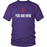 You Are Here Shirt