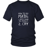 How To Do Math Shirt