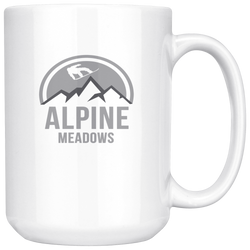 Alpine Meadows Coffee Mug, 15 Ounce