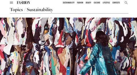 Fashion Magazine - Sustainability (online)