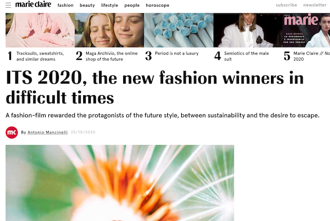 ITS 2020: The new fashion winners in difficult times