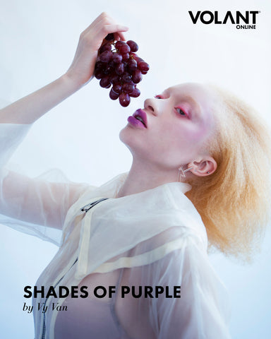 Volant Magazine Shades of Purple