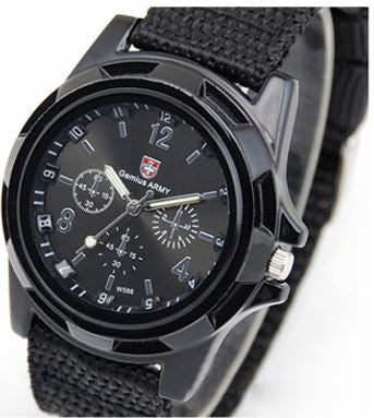 Military Canvas Watch