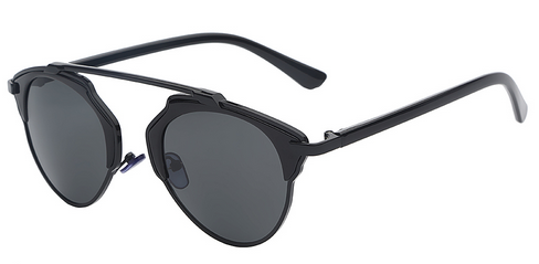 Gafas Styled Designer Sunglasses - Black