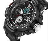 Tactical Sports Watch Black