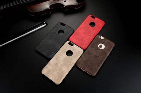 Leather iPhone Phone Cover Case