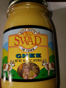 GHEE by Swad best taste in town like butter but better.