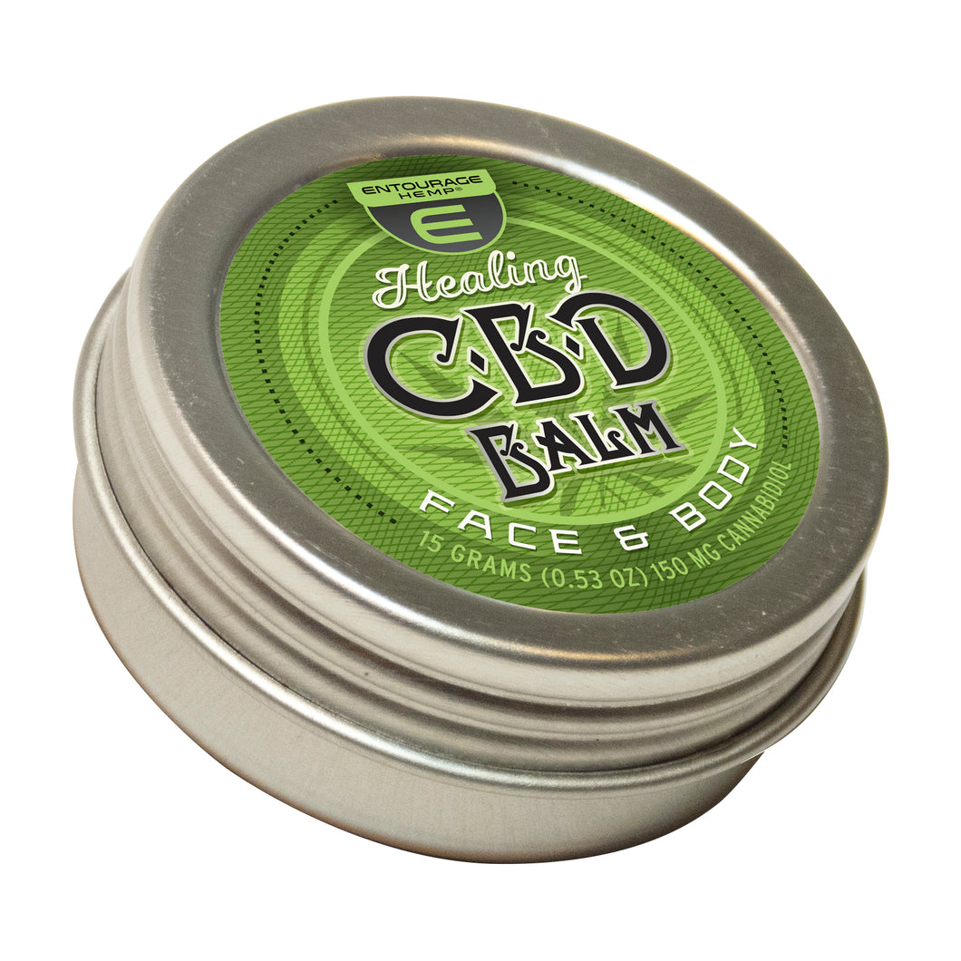 Healing Balm 150mg of CBD in this product.