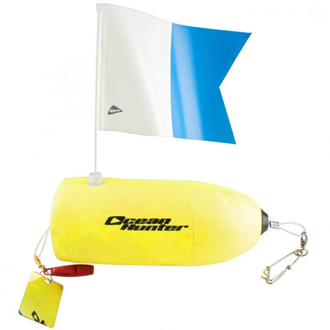 Ocean Hunter Torpedo Foam Float - Yellow