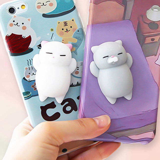 huge selection of 2f3d8 d72b8 Cell Phone Case for iPhone 7 / 6 / 6S Plus - Squishy Cats