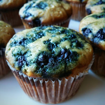 Vegan BlueBerry Muffins - HOW TO MAKE|onboardvegan.com |On Board Vegan