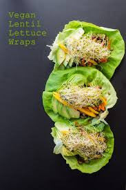 vegan lettuce wrap recipes|On Board Vegan